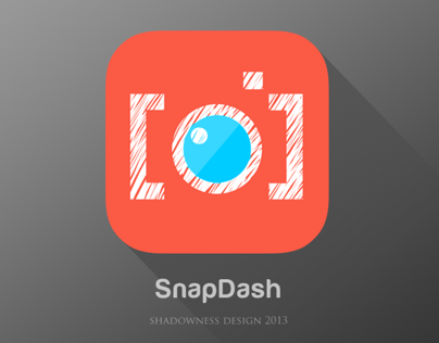 iOS7 Flat icon for SnapDash (official)