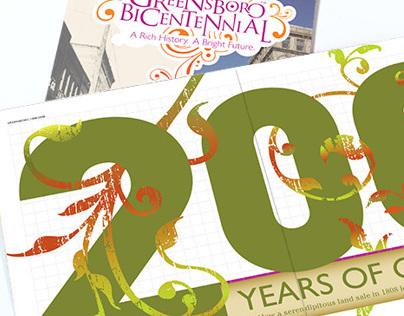 Greensboro Bicentennial official program