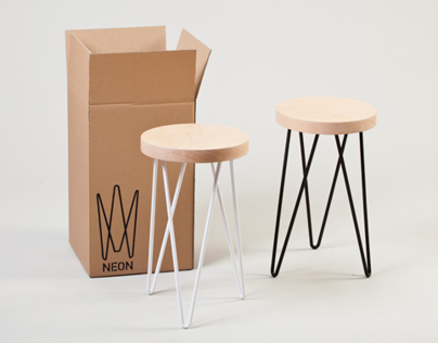 Neon Stool | Product Design