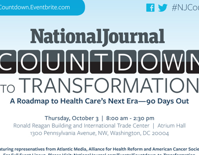 National Journal Countdown to Transformation Collateral