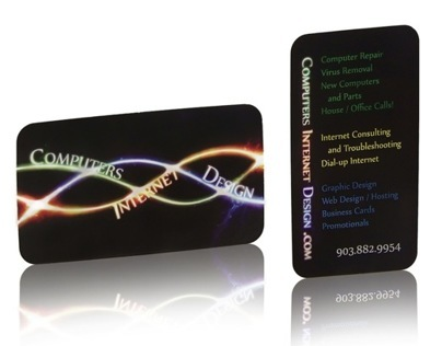 Creative Black Business Cards