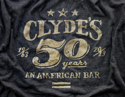 Clydes 50th Anniversary