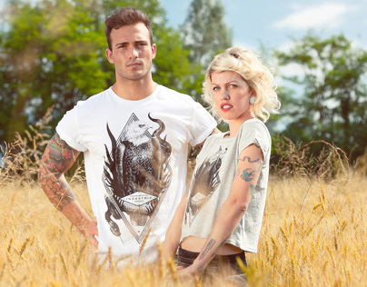 Indastria T-Shirts Promotional Shooting