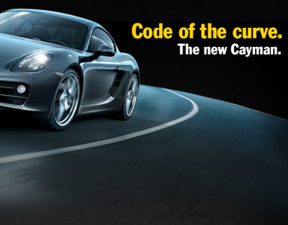 Porsche code of the curve - Website