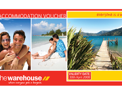 The Warehouse Promotional Vouchers