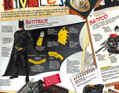 The Dark Knight -- Infographic
