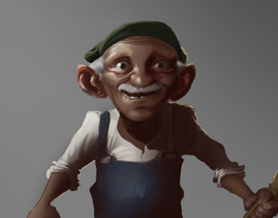 The Fisherman Character Design