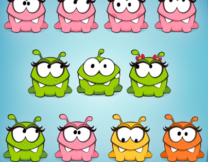 Cut the rope. Female characters