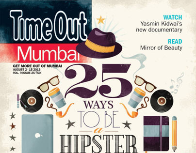 TIME OUT, Mumbai - Hipster issue.