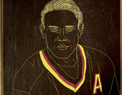 Canucks Portraits - Pavel Bure