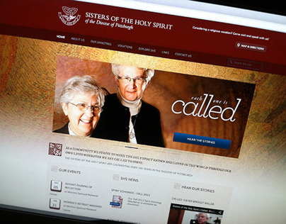 Sisters of the Holy Spirit Website