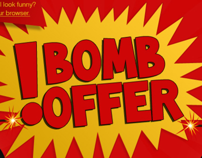 Bomb Offer Newsletter