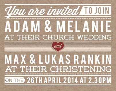 Wedding Invite #2