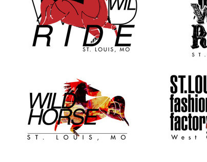 logo wild horse (men,s fashion wear)