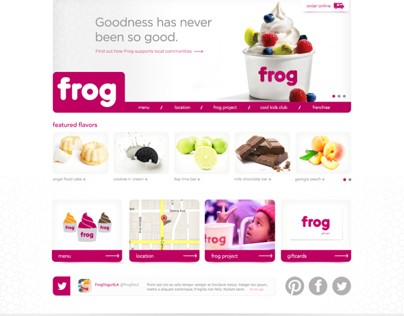 Frog Frozen Yogurt