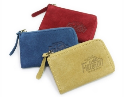 Filter017 Outdoor Logo Suede Coin Case