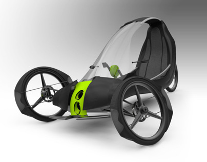 ADELANTE - Human + Hydrogen Powered Vehicle
