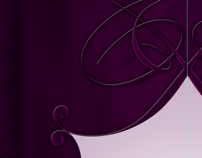 Royal Decorative Flyers in Purple
