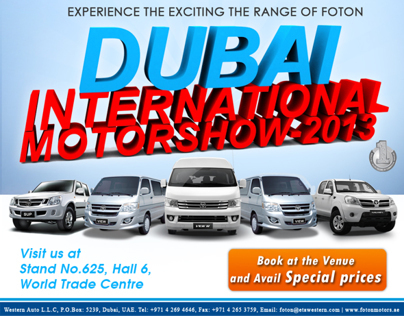DUBAI INTERNATIONAL MOTORSHOW - 2013