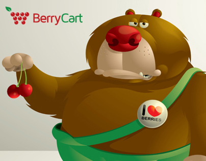 Berry Cart Bear