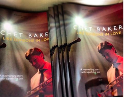Chet Baker Show Brochure & CD Jacket Design