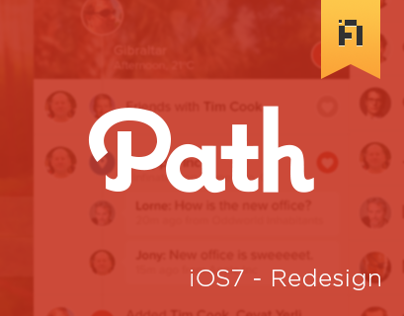 Path - iOS7 Redesign