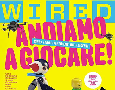 WIRED Magazine Italy - Cover