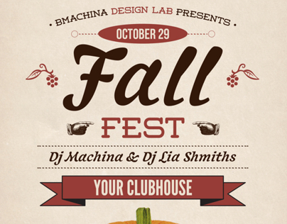 Fall Fest Flyer & Poster Templates