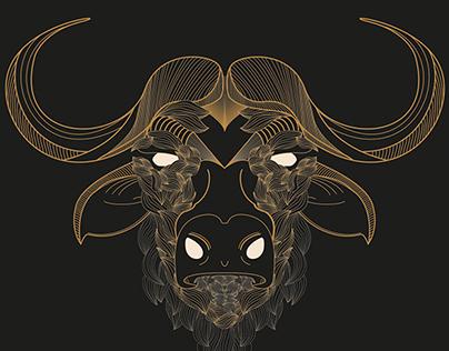 Wild animals: illustration