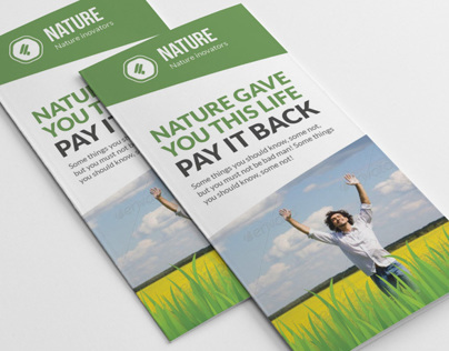 Save the Nature Brochure