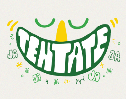 7up ¨Risas¨ Typography