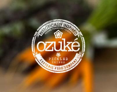 Ozuké Branding And Art Direction