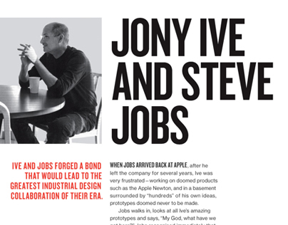 Jony Ive - TIME 100 book