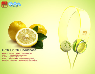 Tutti Frutti Headphone