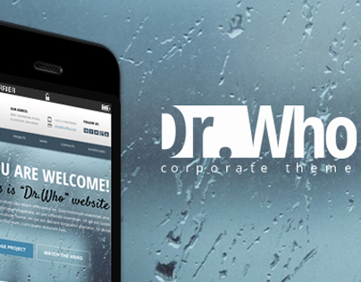 Dr. Who - Bootstrap PSD Template