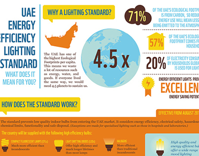 UAE Energy Efficiency Lighting Standard