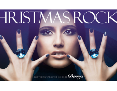 Berry's Christmas Advertising | Outdoor