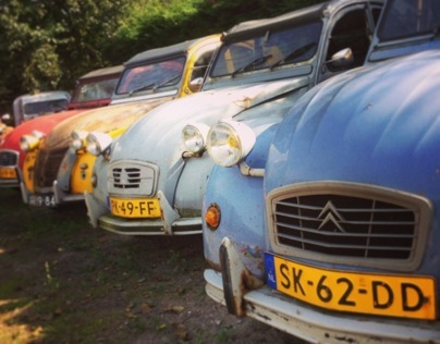 Portrait 2CV Love (Dutch)