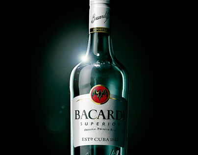 Bacardi bottle