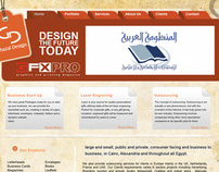 GHAZAL DESIGN WEBSITE