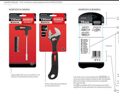 Modeco Tools Packaging Design Manual