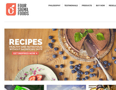Website - Four Sigma Foods