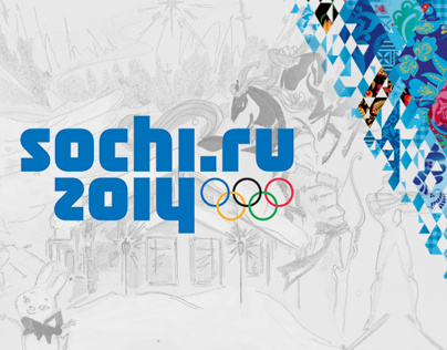 Sochi 2014 - Poster & Newspaper