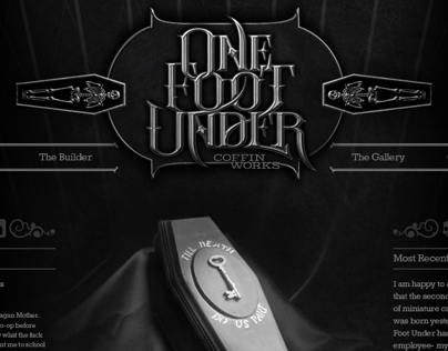 One Foot Under Website