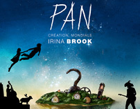 PAN - Irina Brook - Poster