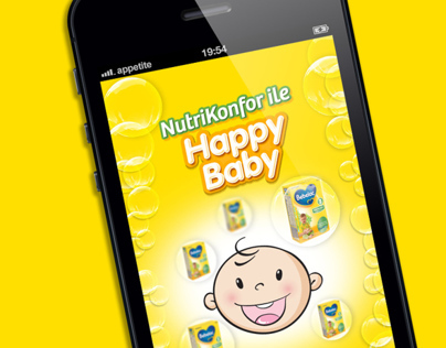 iPhone & iPad game app for infant food