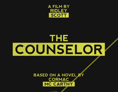 The Counselor - Alternative Movie Posters