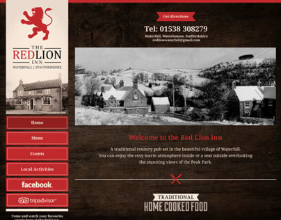 The Red Lion Inn Responsive WordPress Website