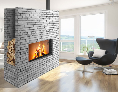 Fireplace - Steinar