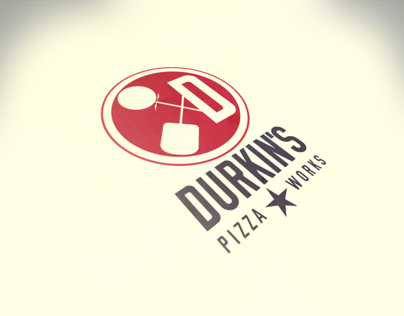 Table Tent & Icon Design for Durkins Pizza